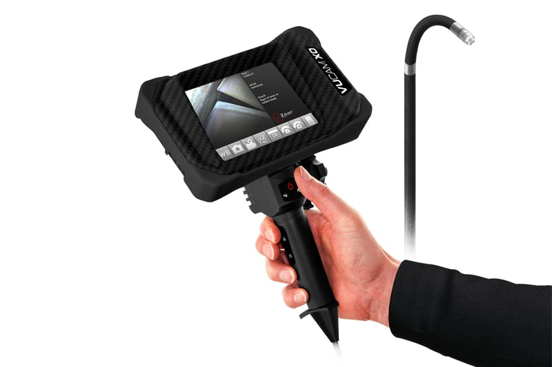 Videoscope VUCAM XO Borescope for Remote Visual inspection (RVI)
